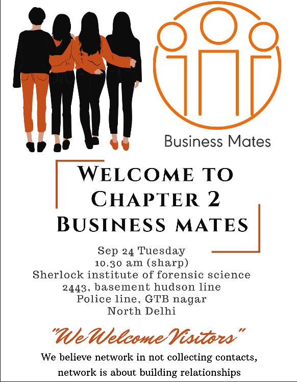 business mates delhi chapter 2