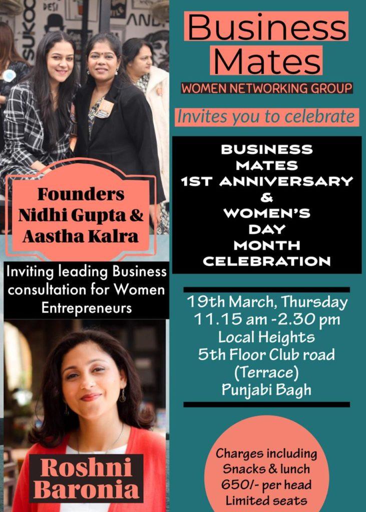 Business Mates 1st Anniversary